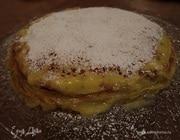 Блинный торт с лимонным кремом