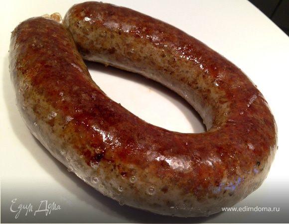Гречневая колбаса с куриной печенью