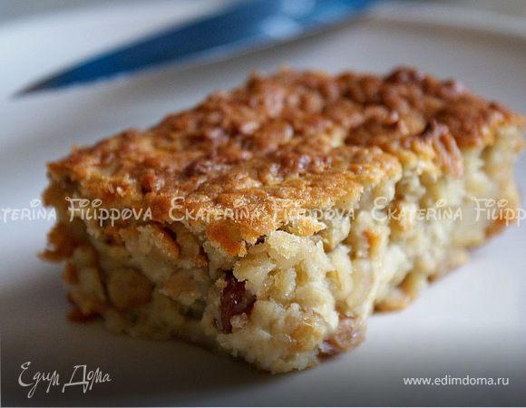 Пирог с кедровыми орешками и корнем сельдерея