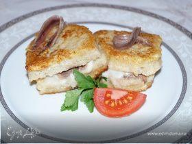 "Сэндвич с моцареллой (""Mozzarella in carrozza"")"