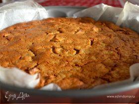Рисовый пирог с яблоками (без муки)