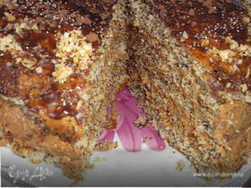 Маковой торт