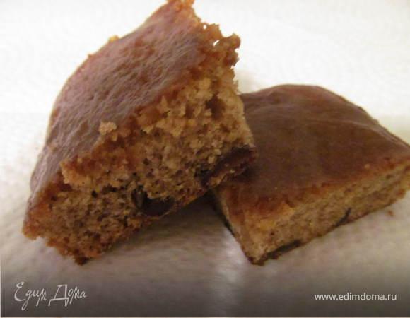 Пирог с финиками и помадкой