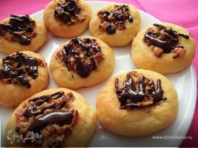 Ореховое печенье с кардамоном