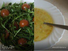 Весенний салат и суп