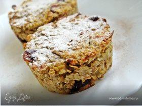 Овсяно-фруктовые кексы (без жира и сахара)