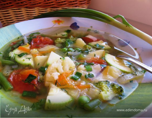готовка овощного супа
