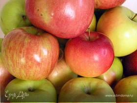 Яблочный пирог на майонезе с геркулесом