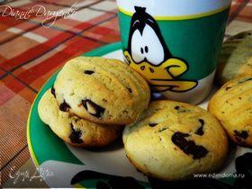 Американское печенье с шоколадными шариками (American Chocolate-chip cookies)