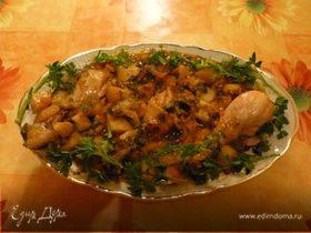 Куриные ножки в картофельном соку
