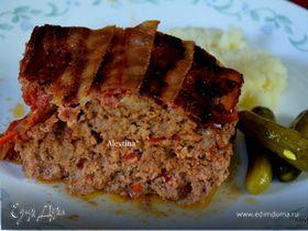 Мясная буханка с томатным релишем