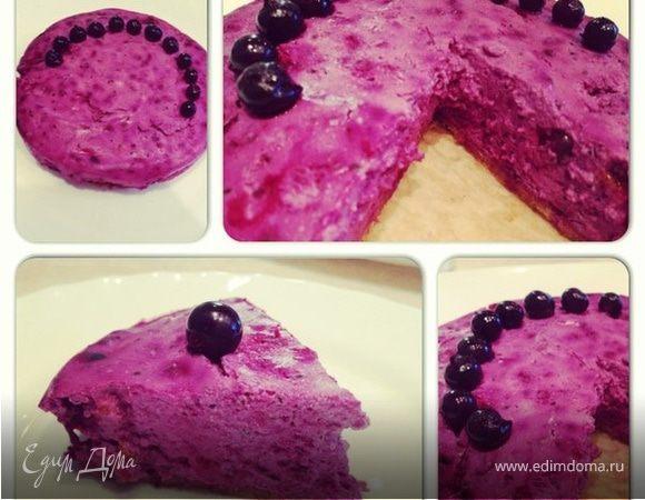 """Творожный торт """"Смородинка"""""""