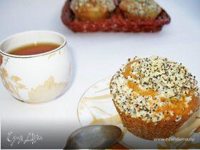 Ягодные кексы с маковым штрейзелем