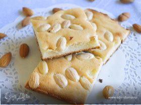 Бретонский пирог с миндалем