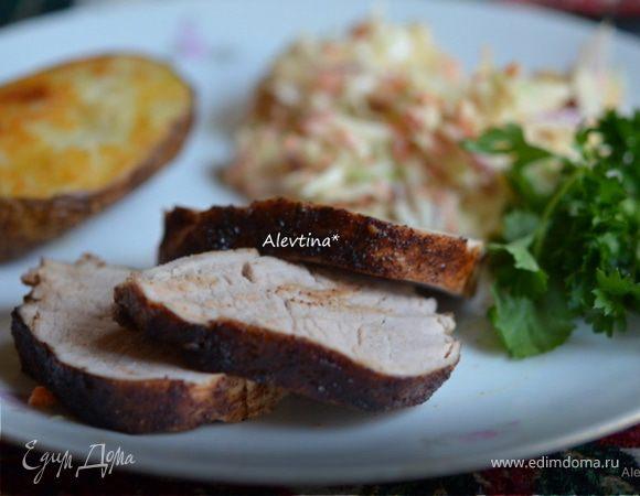 Свиное филе с медовой глазурью