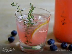 Лимонад ягодный с тимьяном