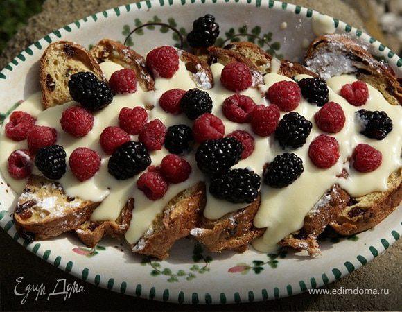 Итальянский десерт Zuppa inglese