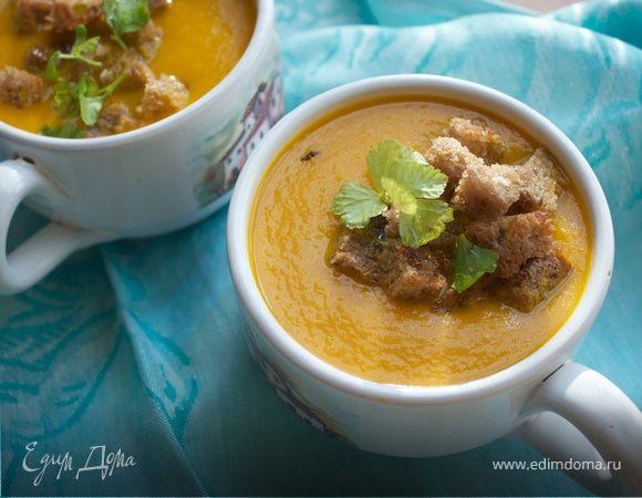 "Быстрый морковный суп (""Холодные супы"")"