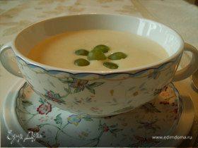 """испанский миндальный суп (""""холодные супы"""")"""