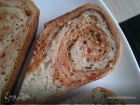 Хлеб из двух видов теста