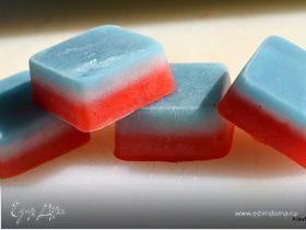 Цветной лед для молочных коктейлей
