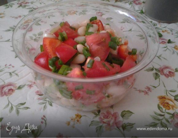 """Салат """"Летний с фасолью"""""""