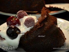 Шоколадный кекс с цукини