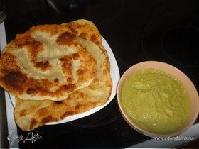 Закуска из зеленого горошка