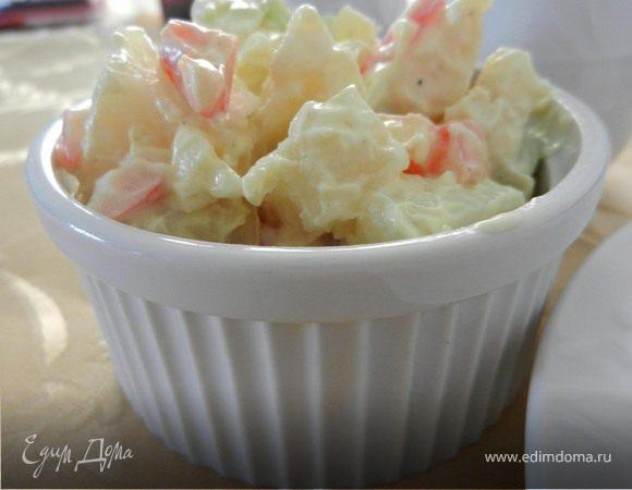 """Картофельный салат """"Классический"""" (Potato salad)"""