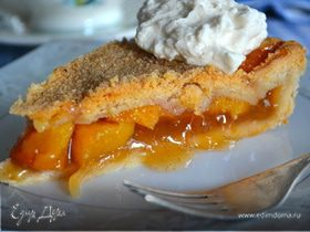 Персиковый пай с ванилью (Vanilla Bean Peach Pie)