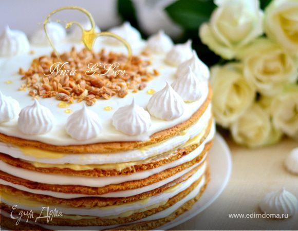 торт медовик в форме сердца рецепт
