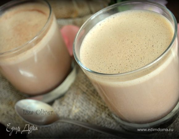 Шоколадный латте с ароматом ванили