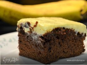 Банановый брауни