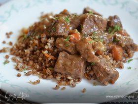 Тушеная говядина с медом и тимьяном