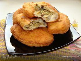 Пирожки с белыми грибочками