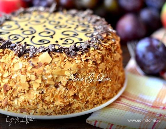 Начинка для торта муравейника