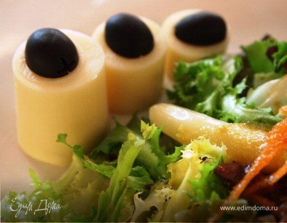 """Легкий салат для худеющих """"Геометрия вкуса"""""""