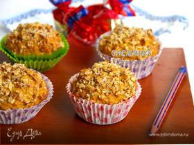 Морковно-овсяные кексы с медом («Школьная ссобойка»)