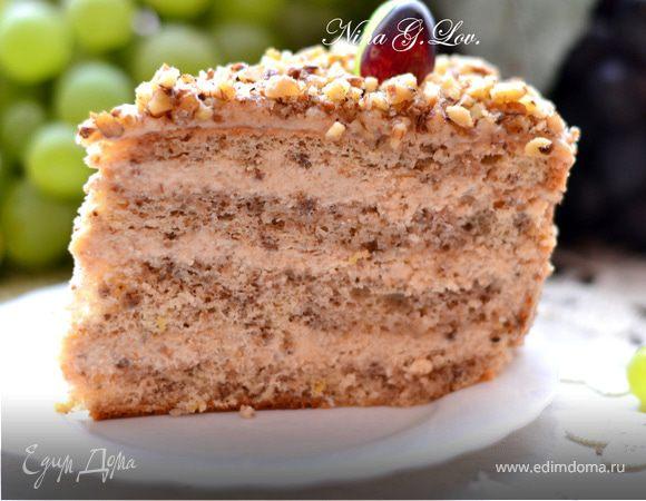Ореховый торт едим дома