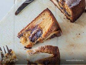 Грушево-шоколадный пирог