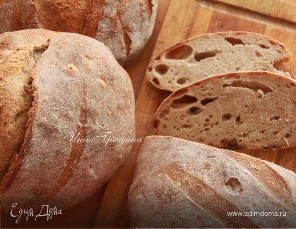 Хлеб с фенхелем на виноградной закваске