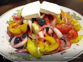 Греческий салат (классический рецепт)