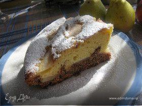 Грушевый пирог по- итальянски