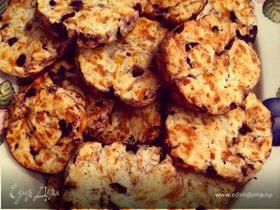 Печенье с сыром и оливками