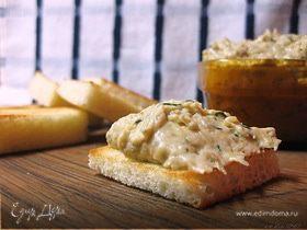 Баклажановый дип с сыром