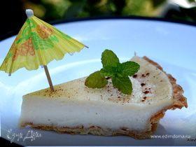 Амиш - пирог с заварным кремом