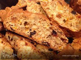 Печенье с орехами и изюмом (бискотти)