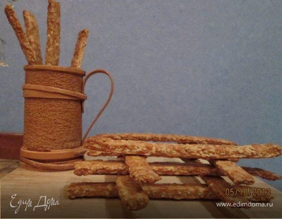 Овсяные палочки с сыром Джюгас