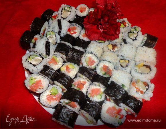 Суши для романтического вечера