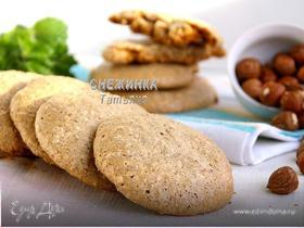 Печенье ореховое (Biscotti con noci e nocciole)